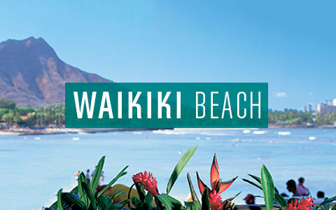 Waikiki Beach Button