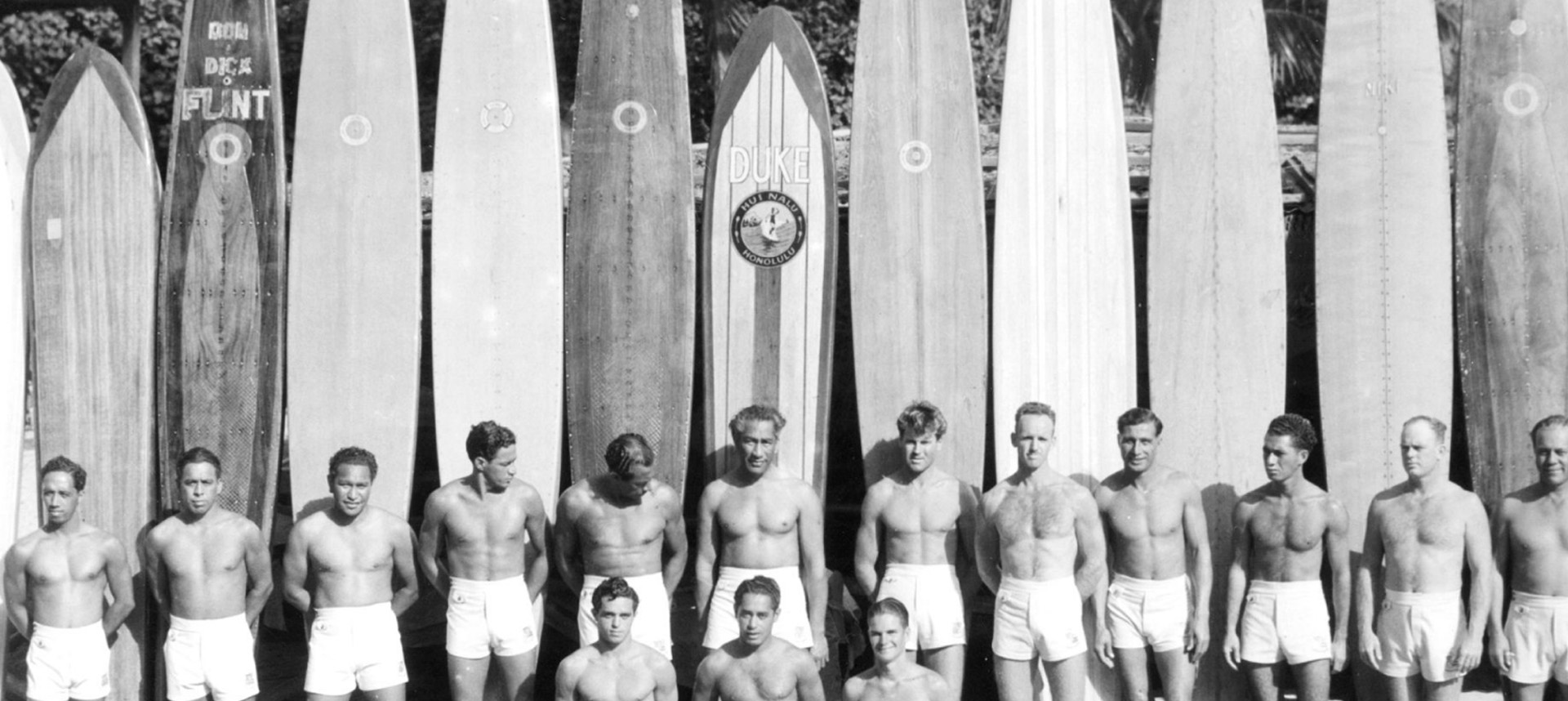 Duke Kahanamoku and the beach boys