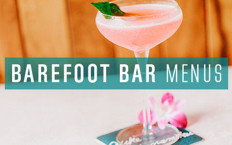 Barefoot Bar Menu Button
