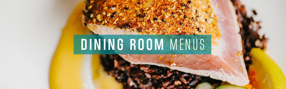 Dining Room Menu Button