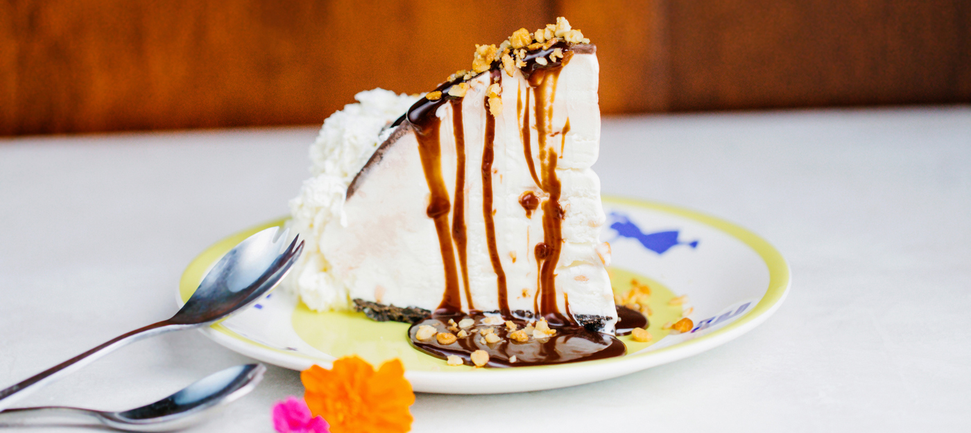 Hula Pie on a plate